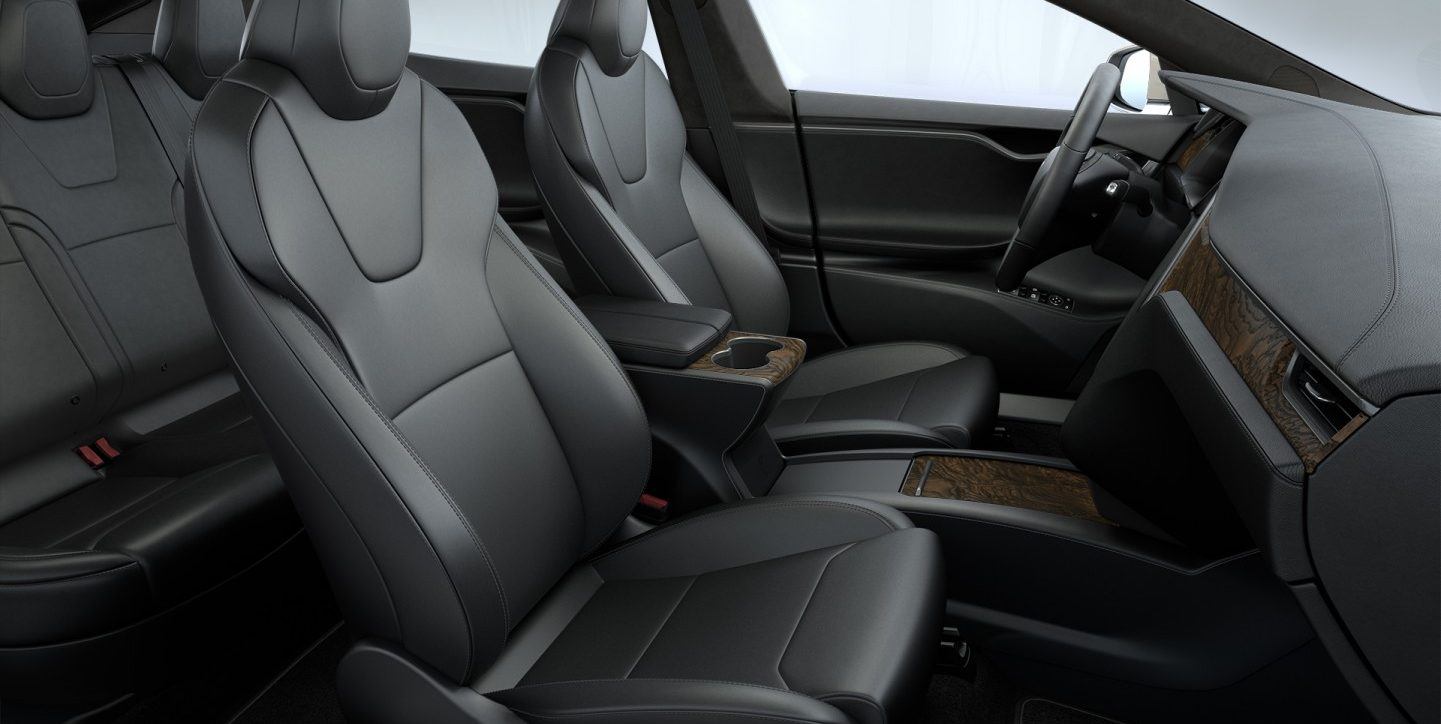 Tesla updates Model S front seats with thinner design