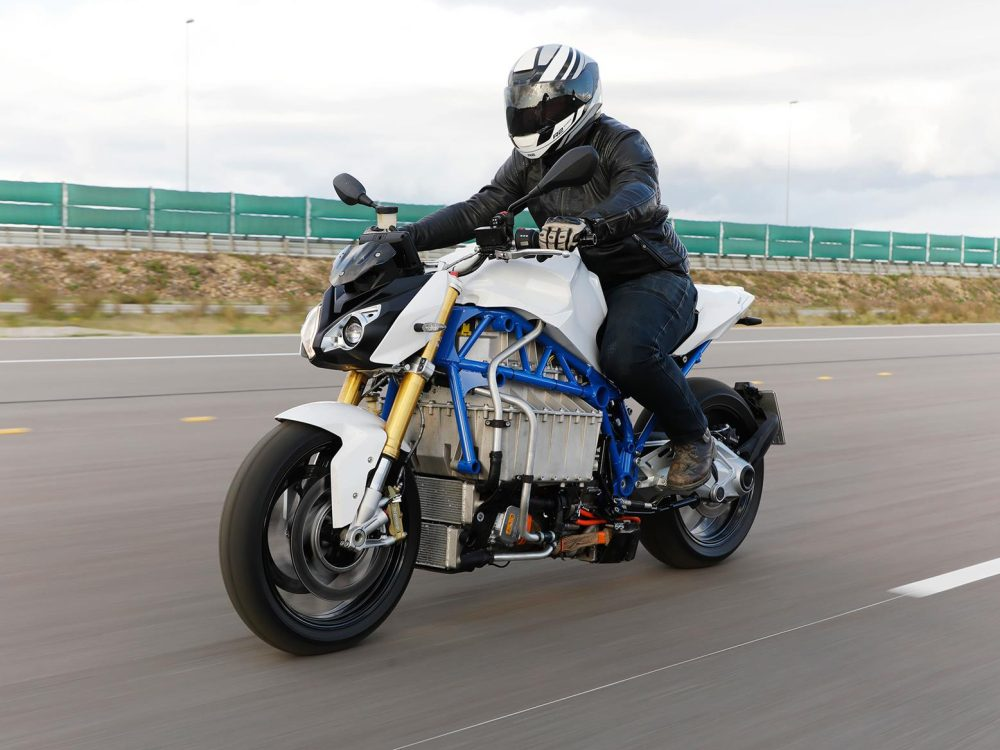 bmw electric motorcycle e-power roadster