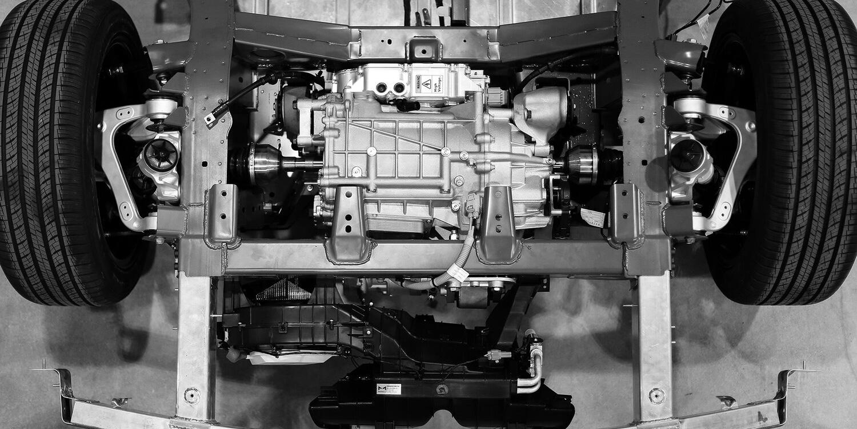 Canoo EV powertrain