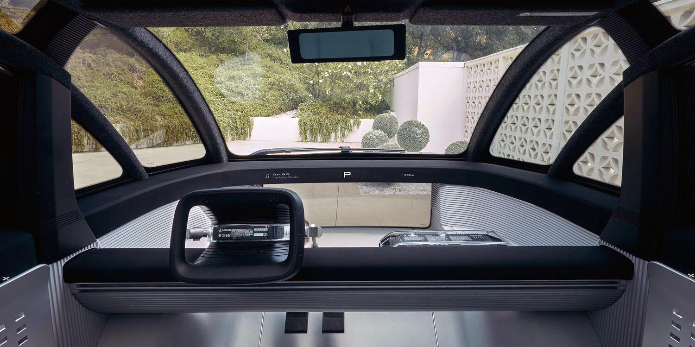 Canoo electric-vehicle interior