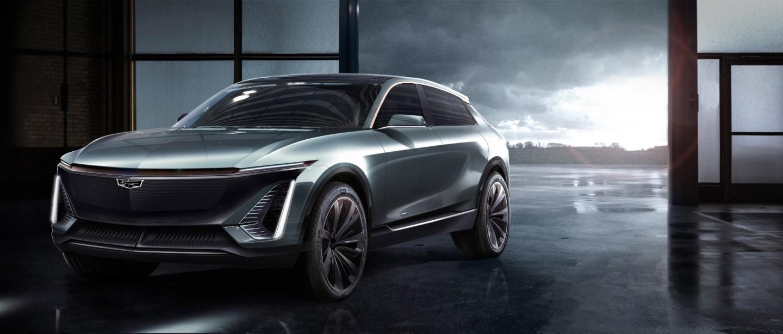 Teaser image of Cadillac EV