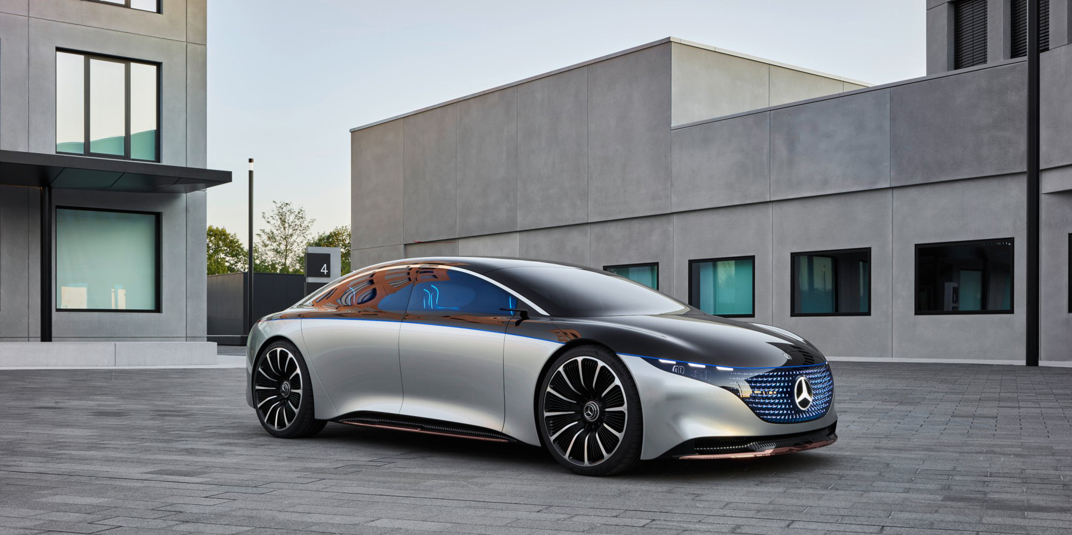Here comes Mercedes EQS electric sedan, as company makes a run at Tesla - Electrek