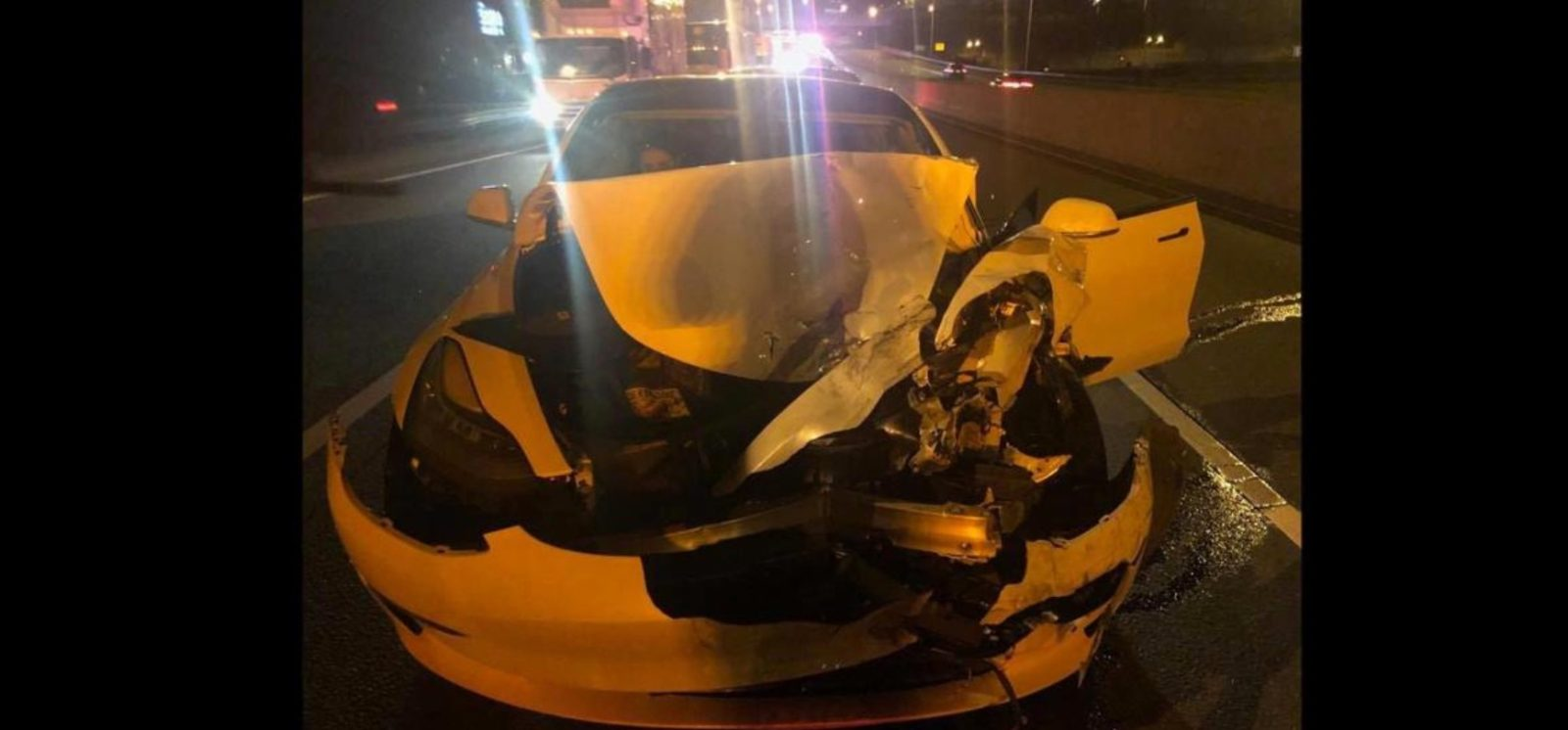 Tesla driver cited with 'reckless driving' after crashing into police car while on Autopilot