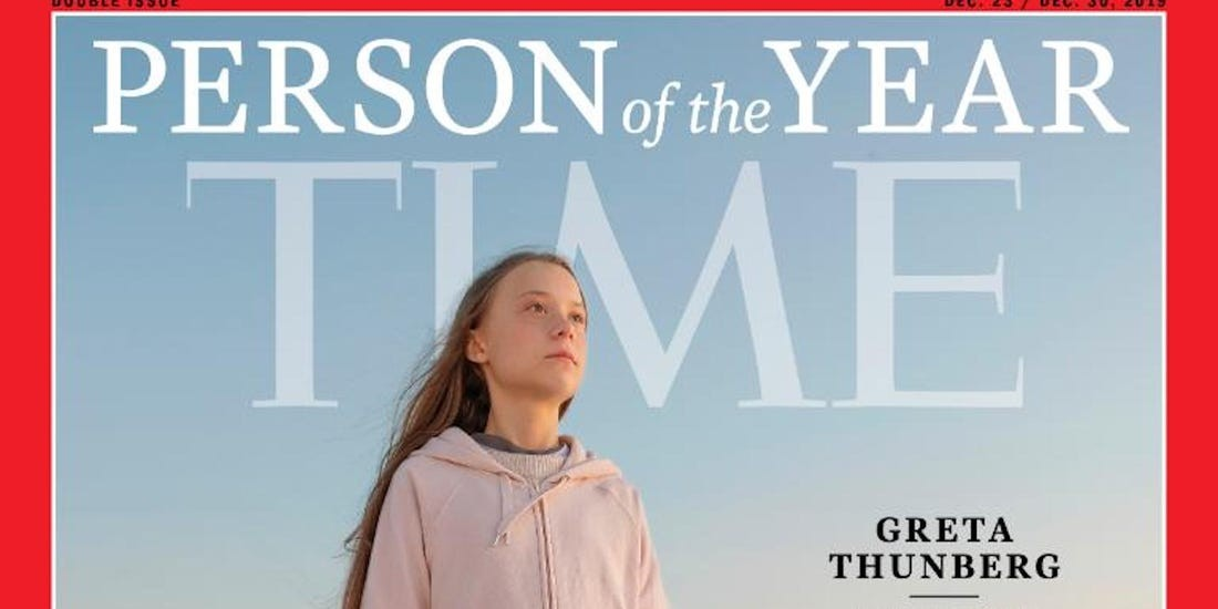 Climate activist Greta Thunberg is TIME's 2019 Person of the Year