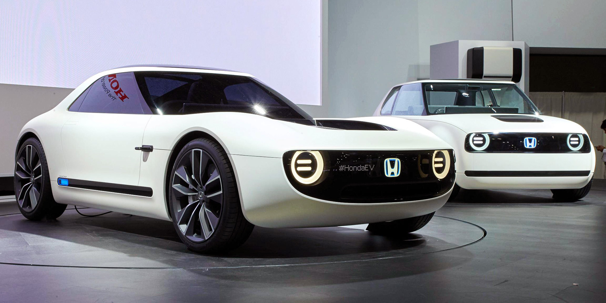 Small, cool, electric Hondas
