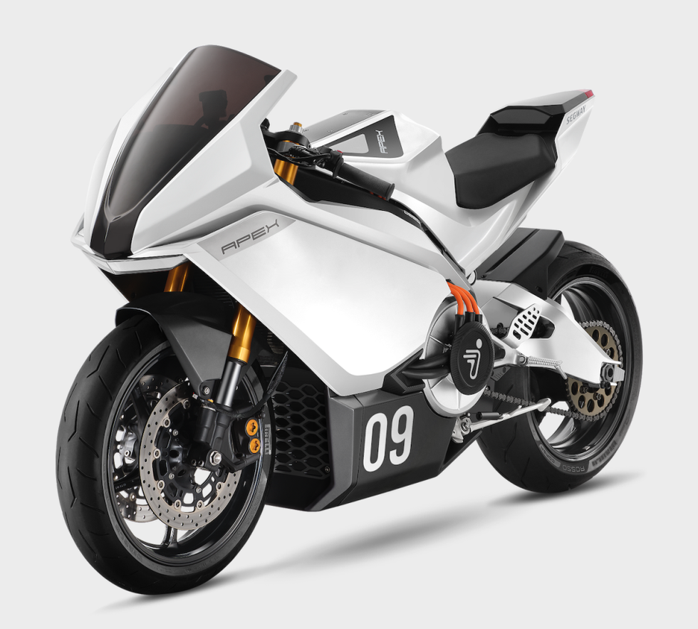 ninebot apex electric motorcycle