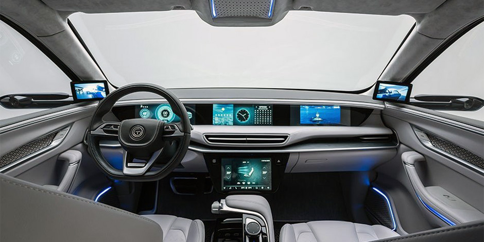 TOGG Turkish EV Interior