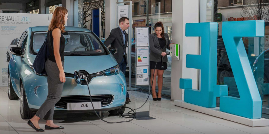 Selling the Renault Zoe