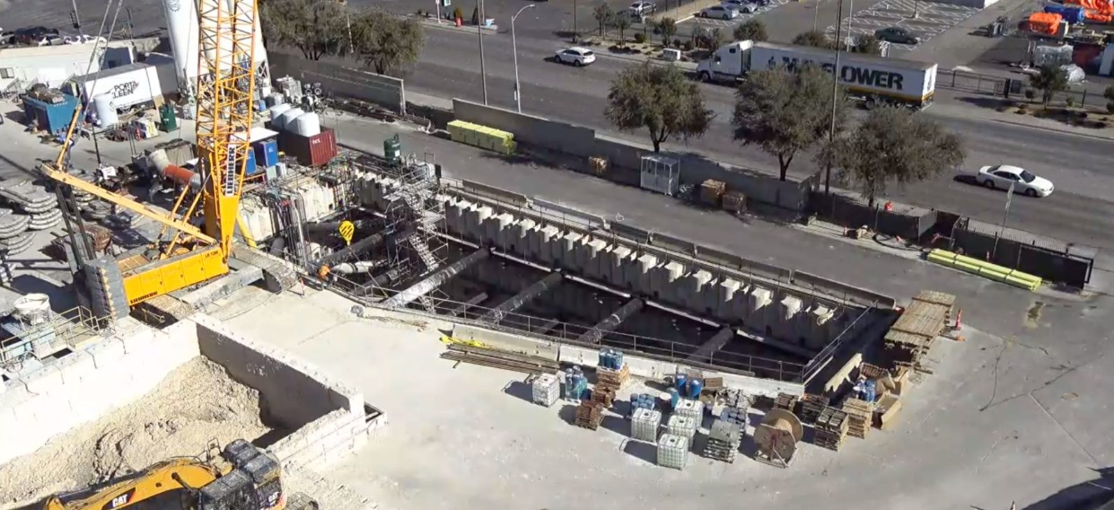 Elon Musk's Boring Company Las Vegas loop is under construction, going to be ready by year's end