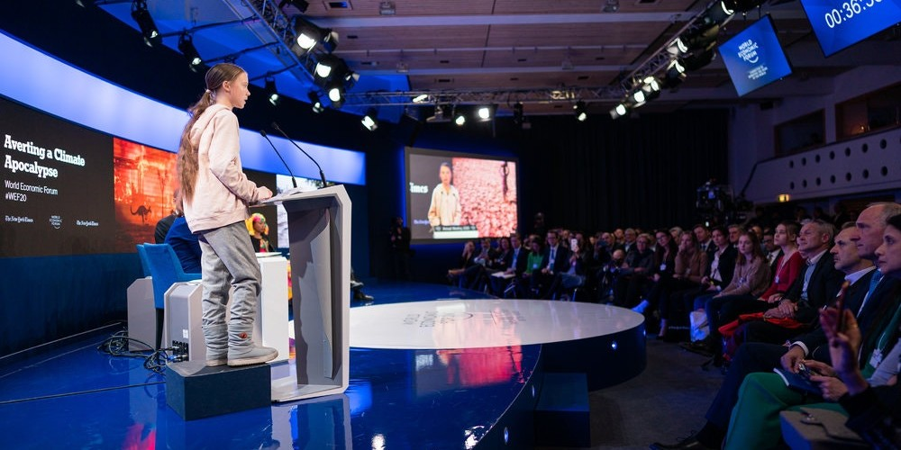 Davos: Trump's and Thunberg's competing views on fossil fuels - Electrek