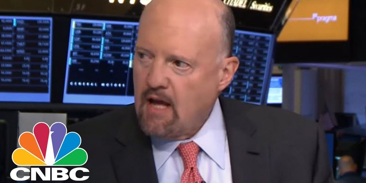 Jim Cramer on CNBC: 'I'm done with fossil fuels. They're done'