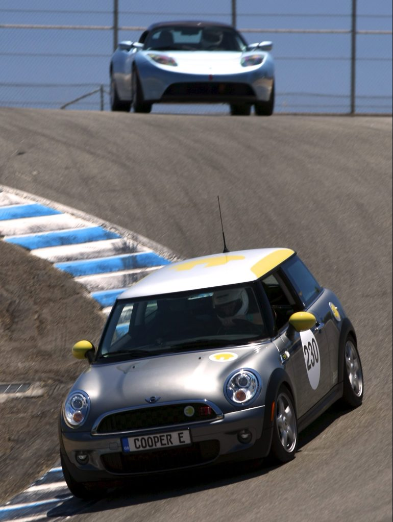 mini e laguna seca roadster