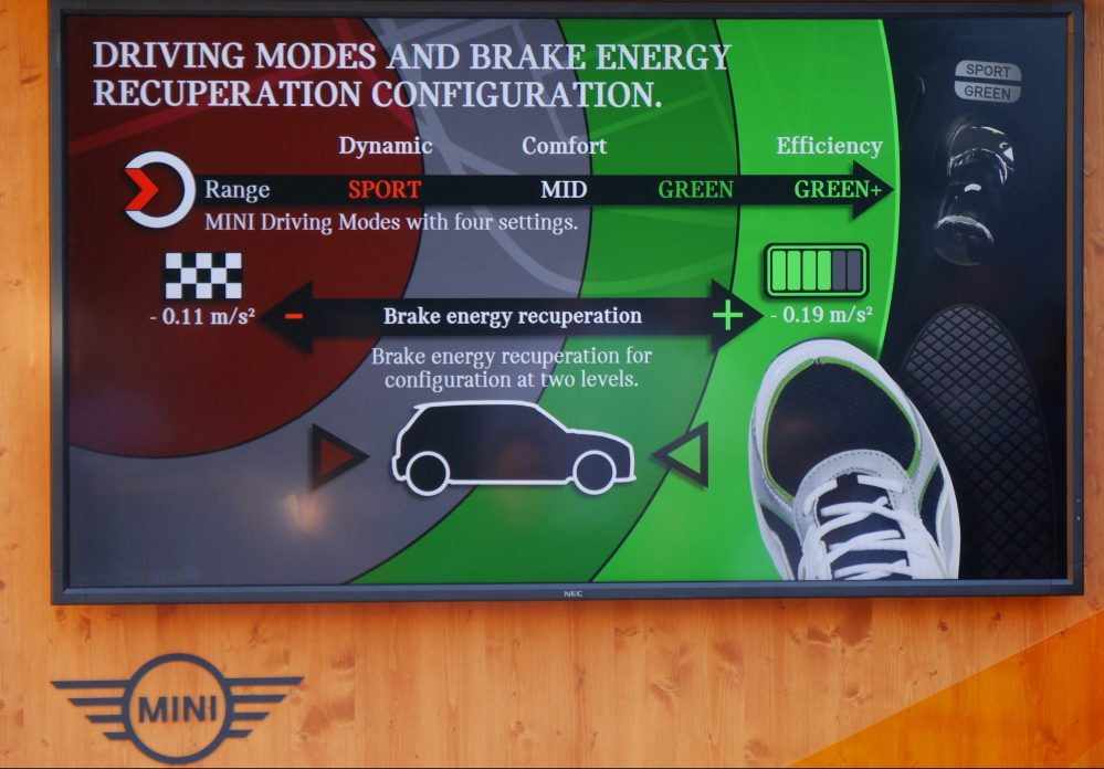 driving modes sport mini