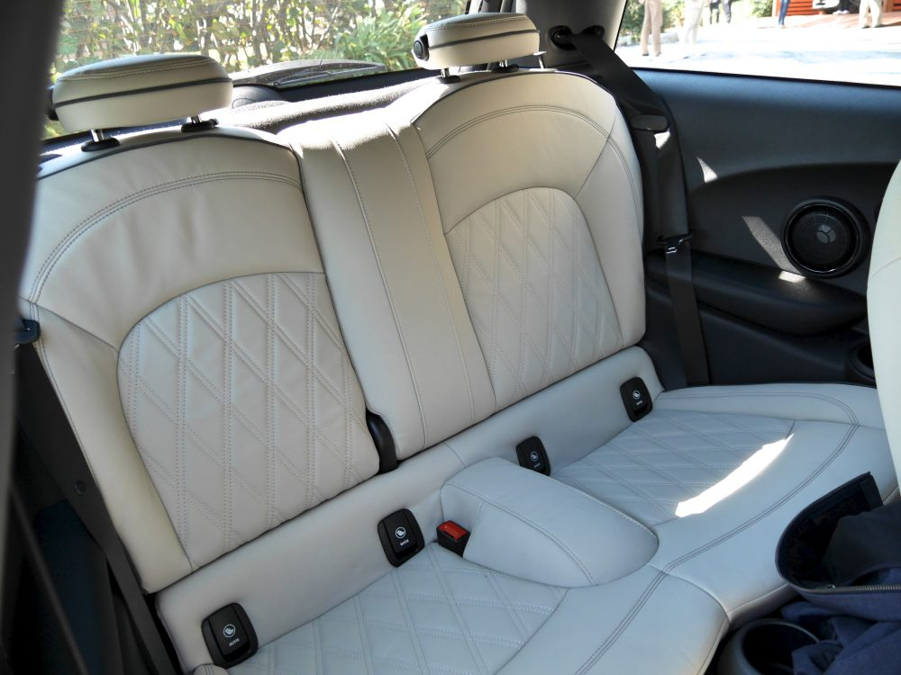 electric mini rear seats