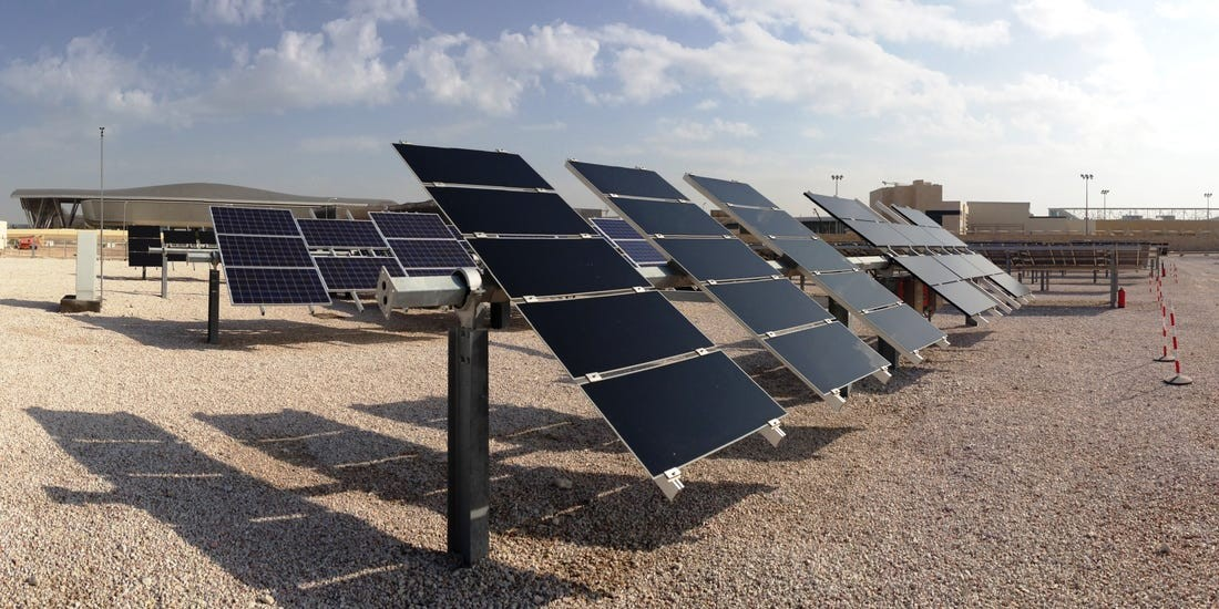 EGEB: Qatar builds a solar farm that will meet 1/10th of its energy needs