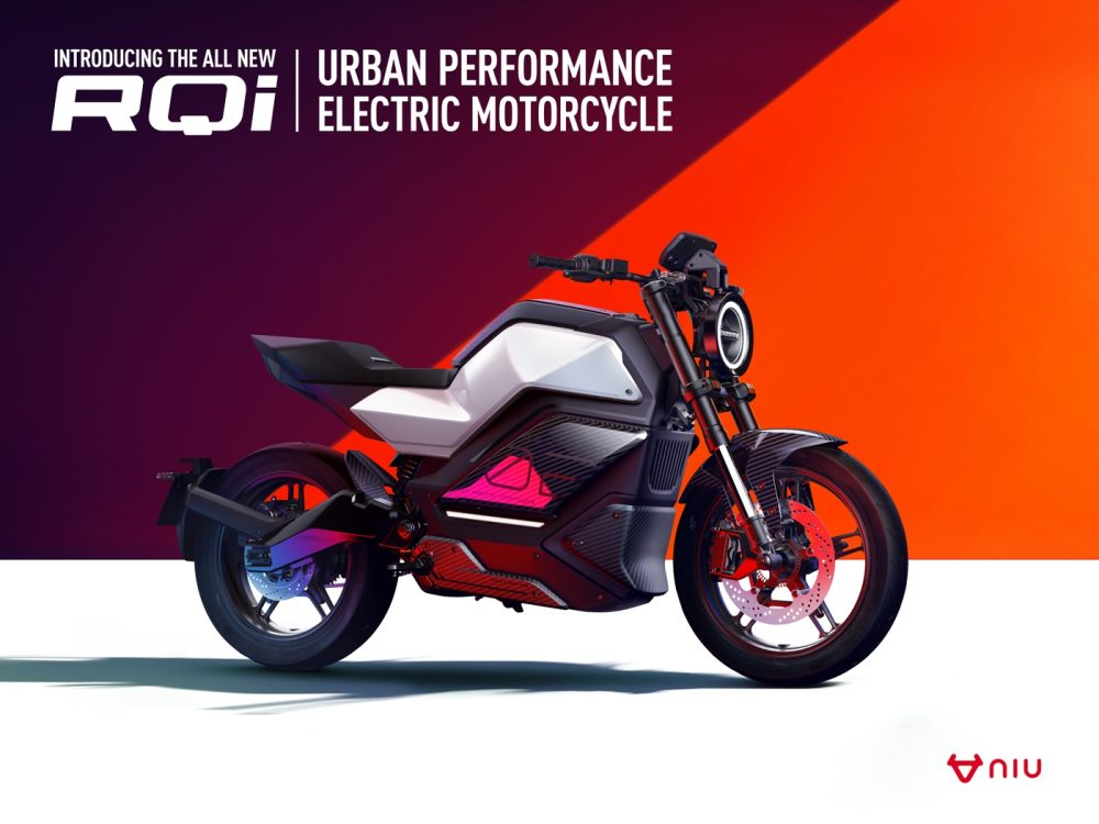 Niu RQi-GT electric motorcycle