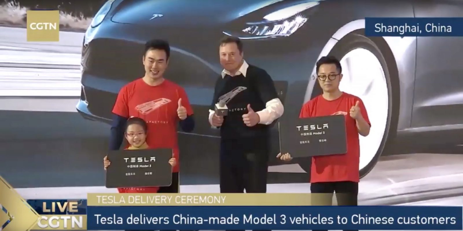 Elon Musk: Tesla will design an electric car in China for global market