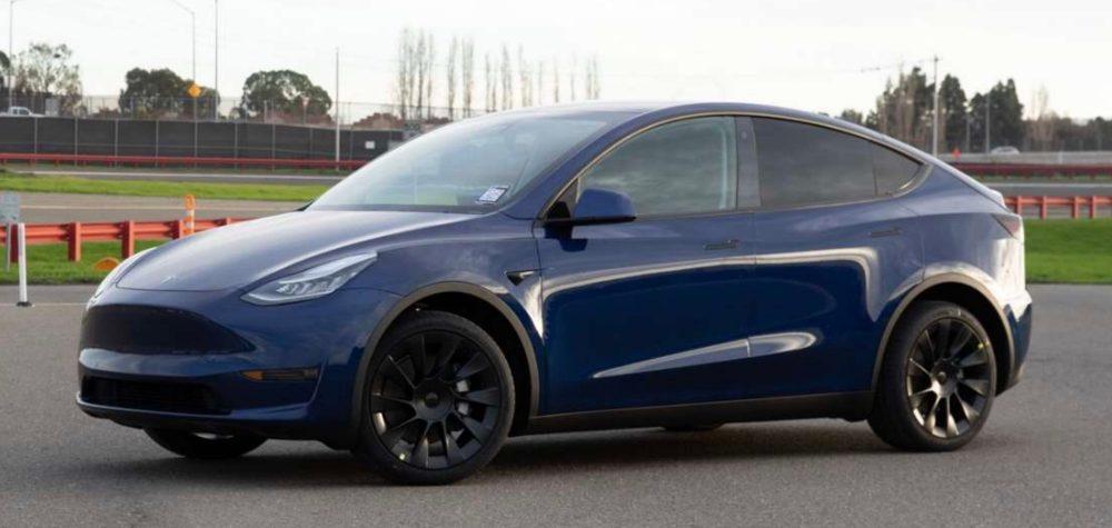 Tesla Model Y deliveries