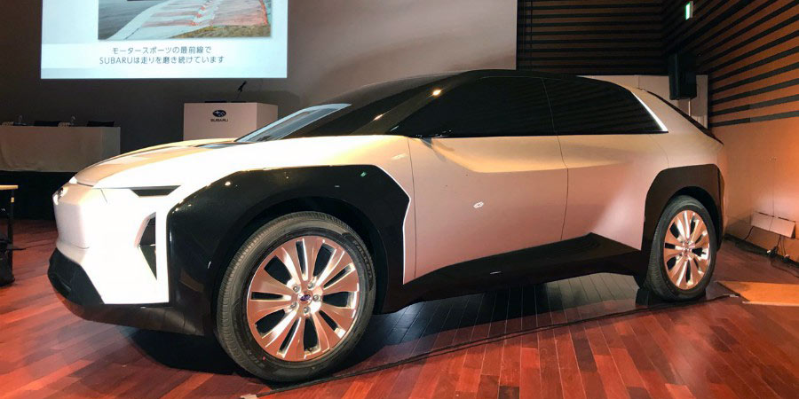 A Subaru-Toyota co-developed electric SUV is targeted for (ahem) 2025