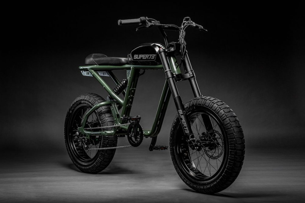 Super73 R-Series 2kW full suspension electric bikes begin deliveries