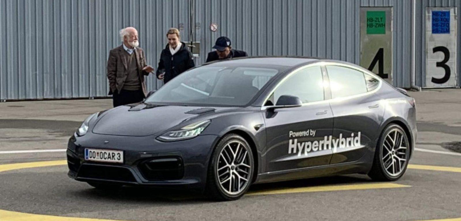 Tesla Model 3 gets a gas engine hybrid conversion – creating the worst Tesla ever