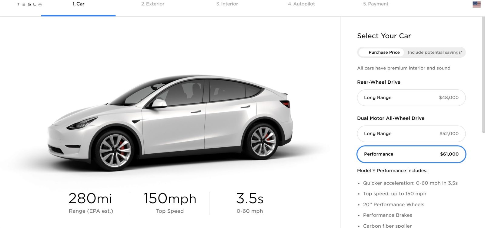 Tesla Model Y gets CARB certification, hinting at deliveries and range