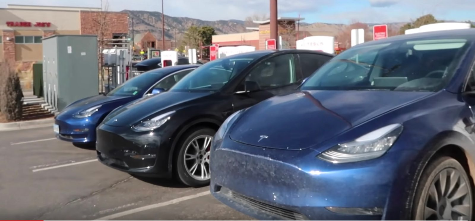Tesla Model Y: a couple of prototypes make it to Boulder, Colorado