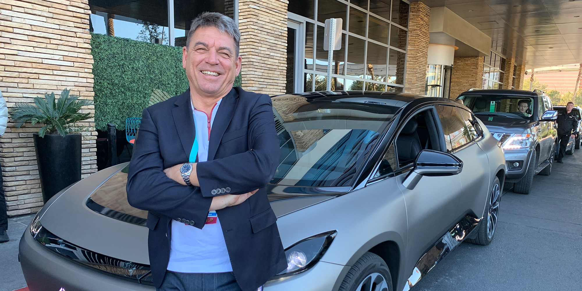 Carsten Breitfeld with the FF91