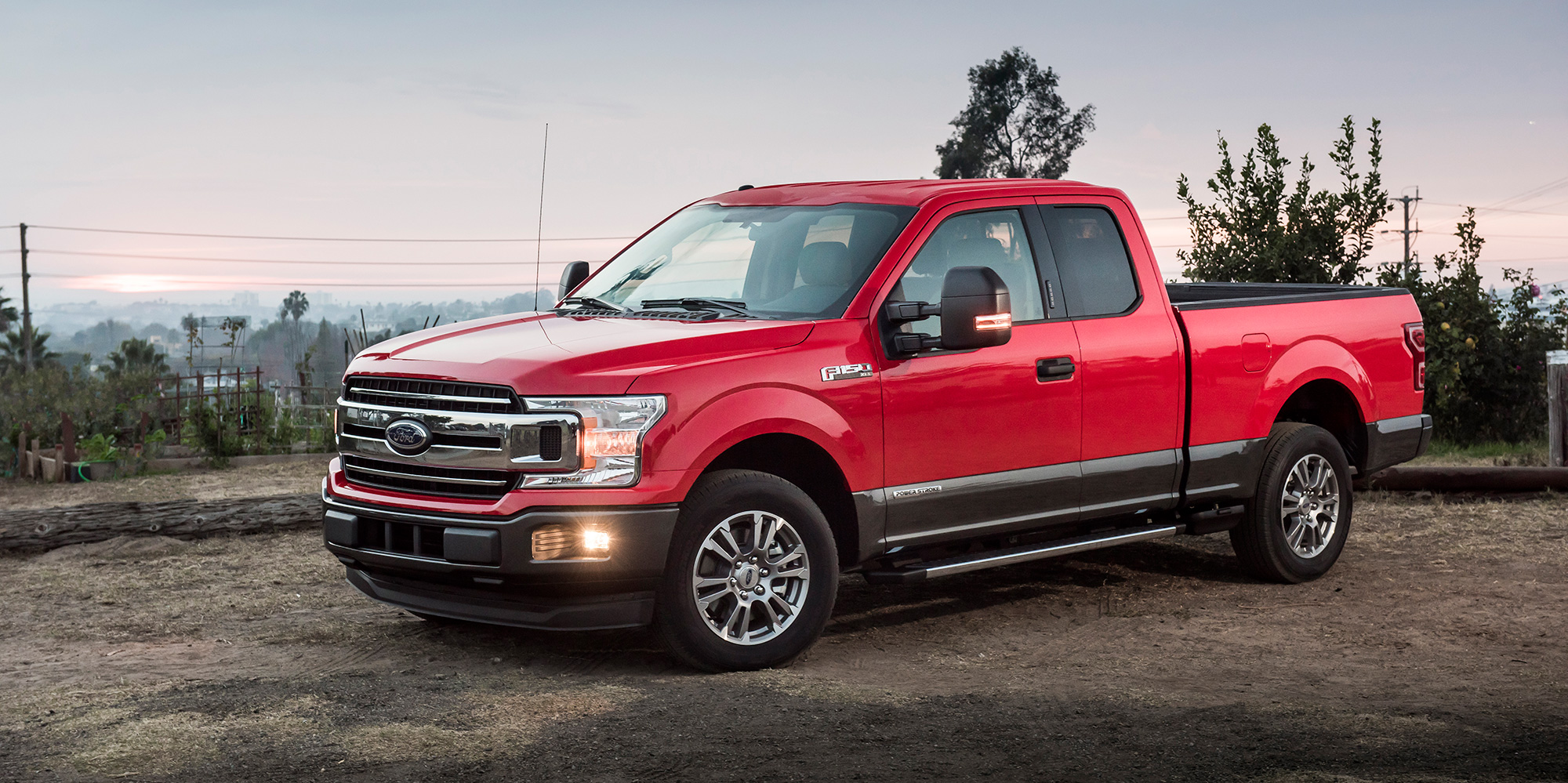 The first-ever F-150 Diesel was introduced in 2018