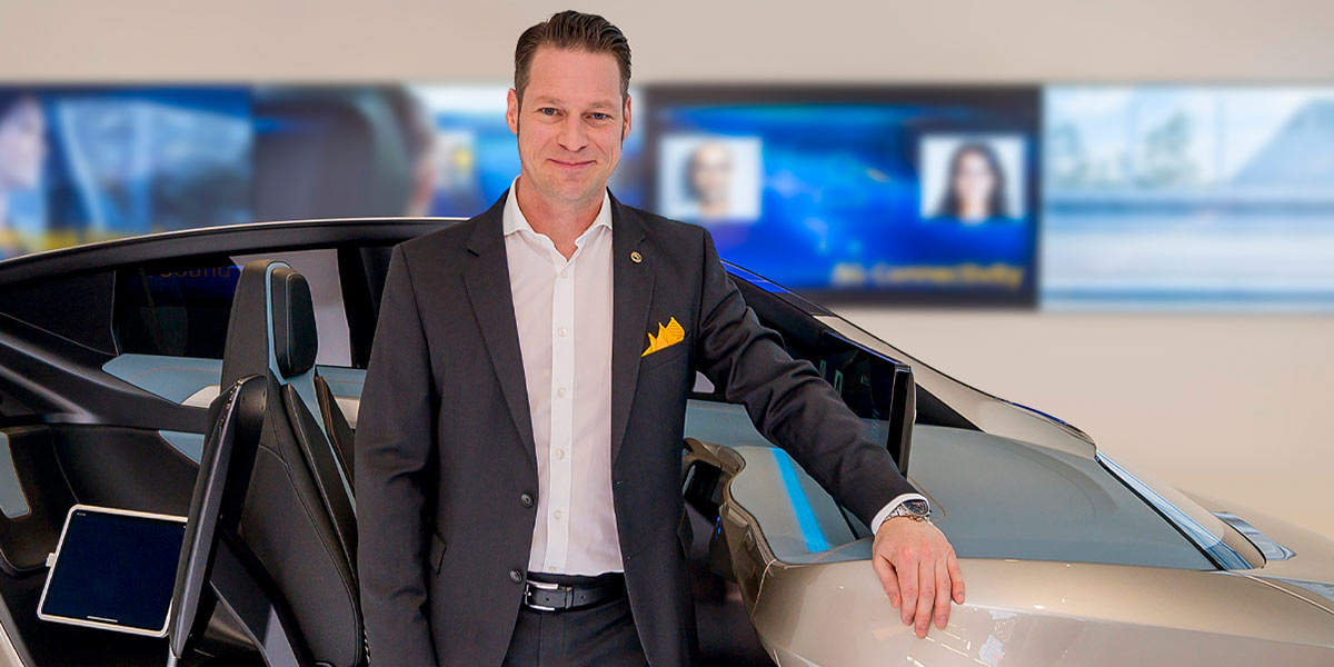 Dirk Abendroth, Continental's CTO