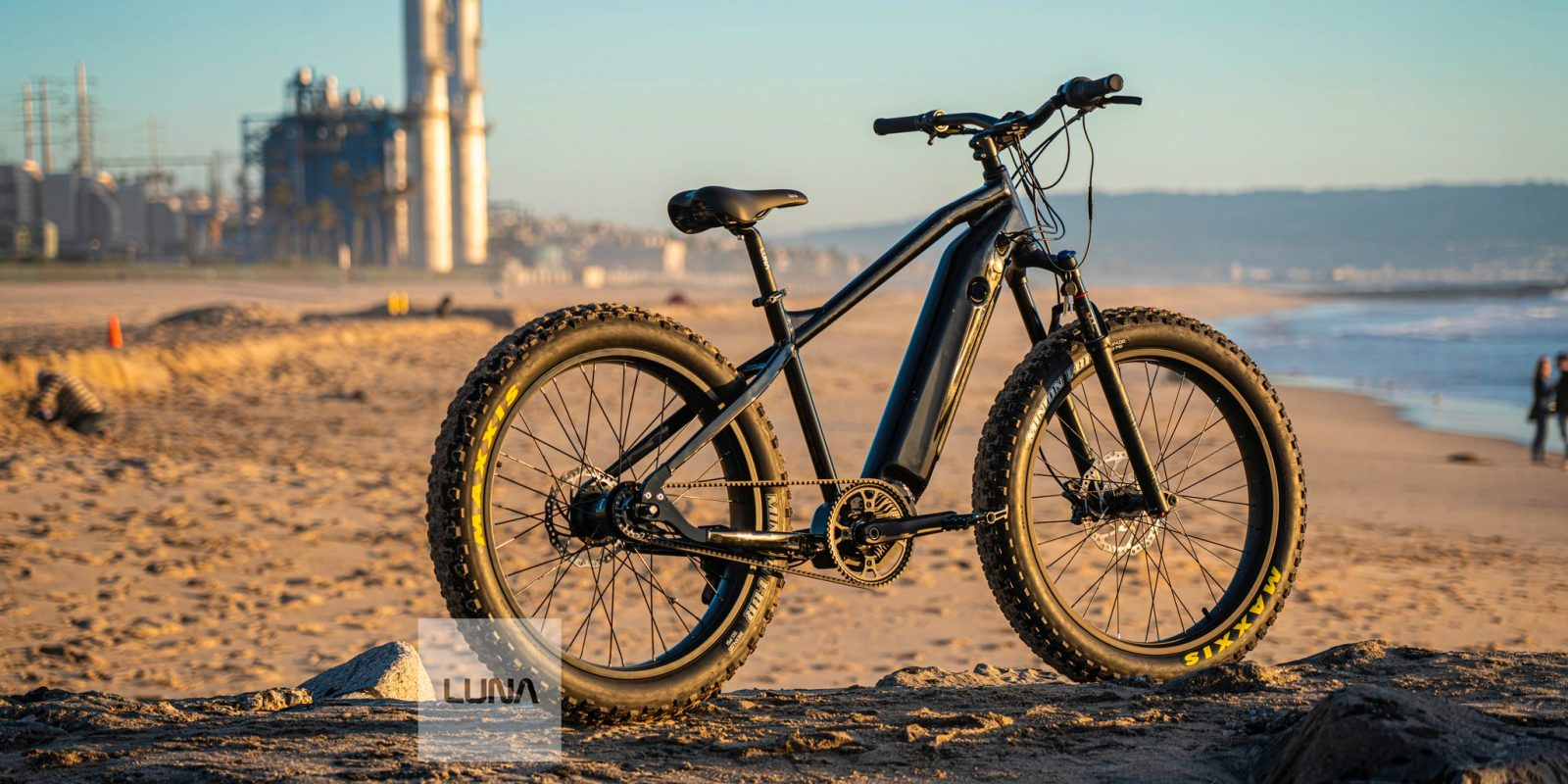 Want to ride a Fat BABE? Luna introduces new belt-drive electric bike