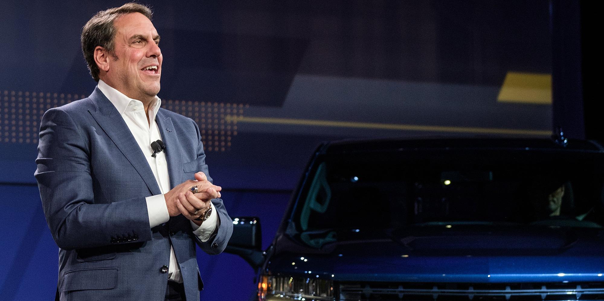 GM President Mark Reuss