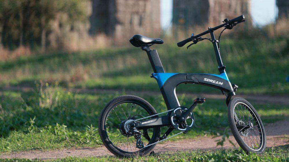 sream ur folding electric bike