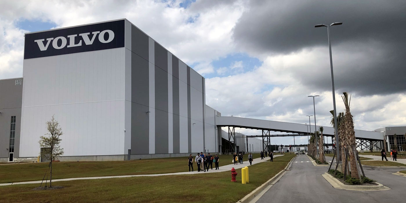Volvo's South Carolina plant