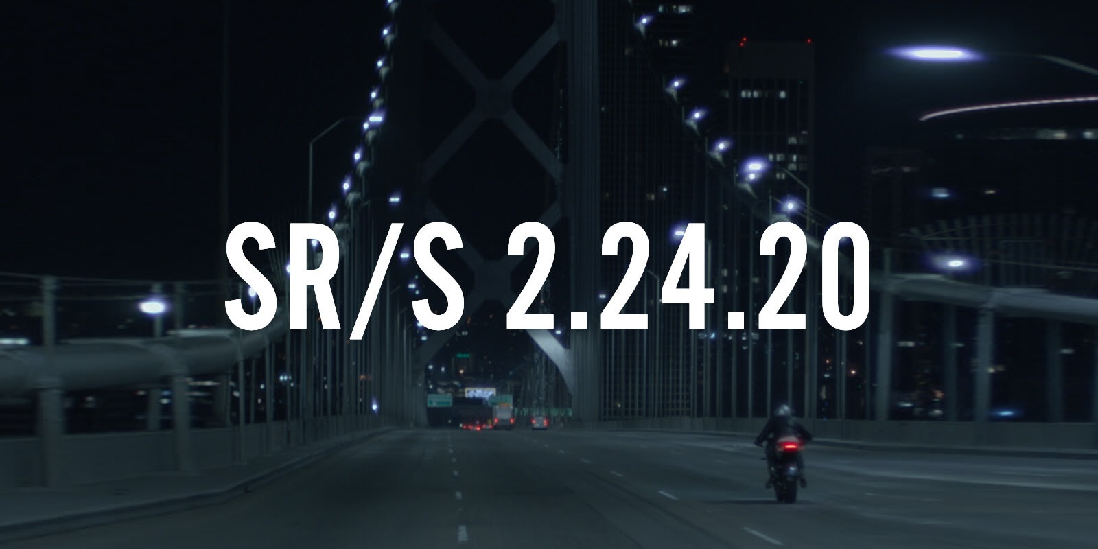 Zero announces the SR/S, a new electric motorcycle model coming next month