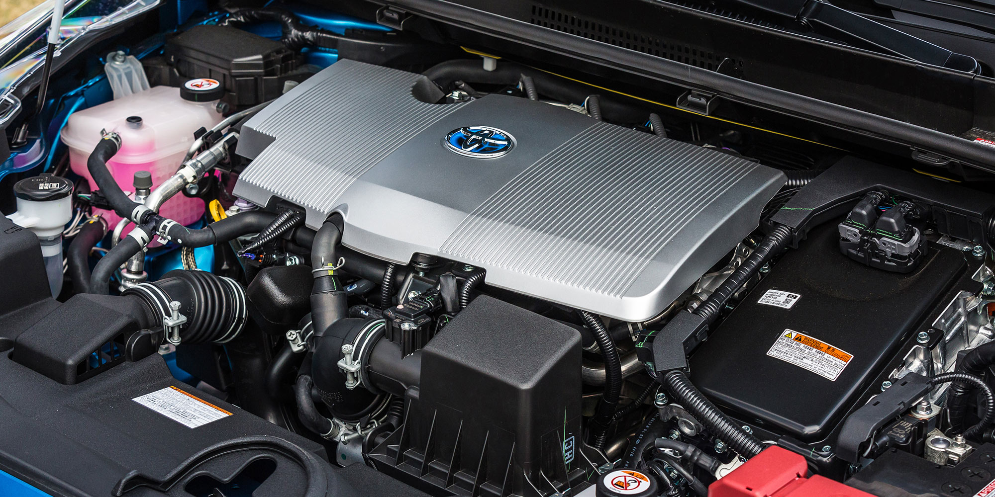 Under the hood of the Toyota Prius