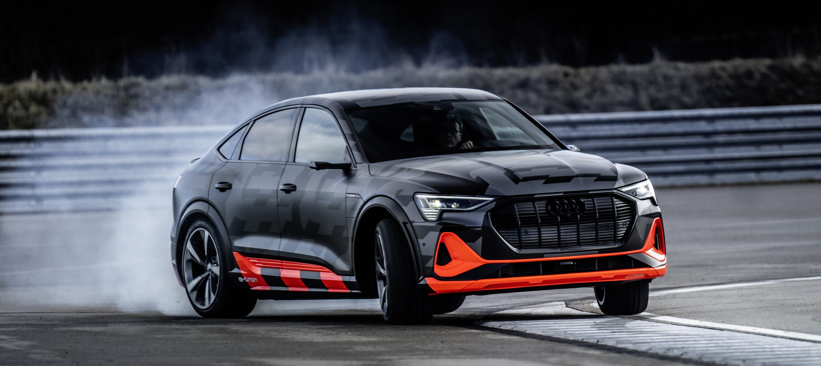 Audi Unveils New E Tron S Claims Will Be First Electric Cars Worldwide With Three Motors In Mass Production Electrek