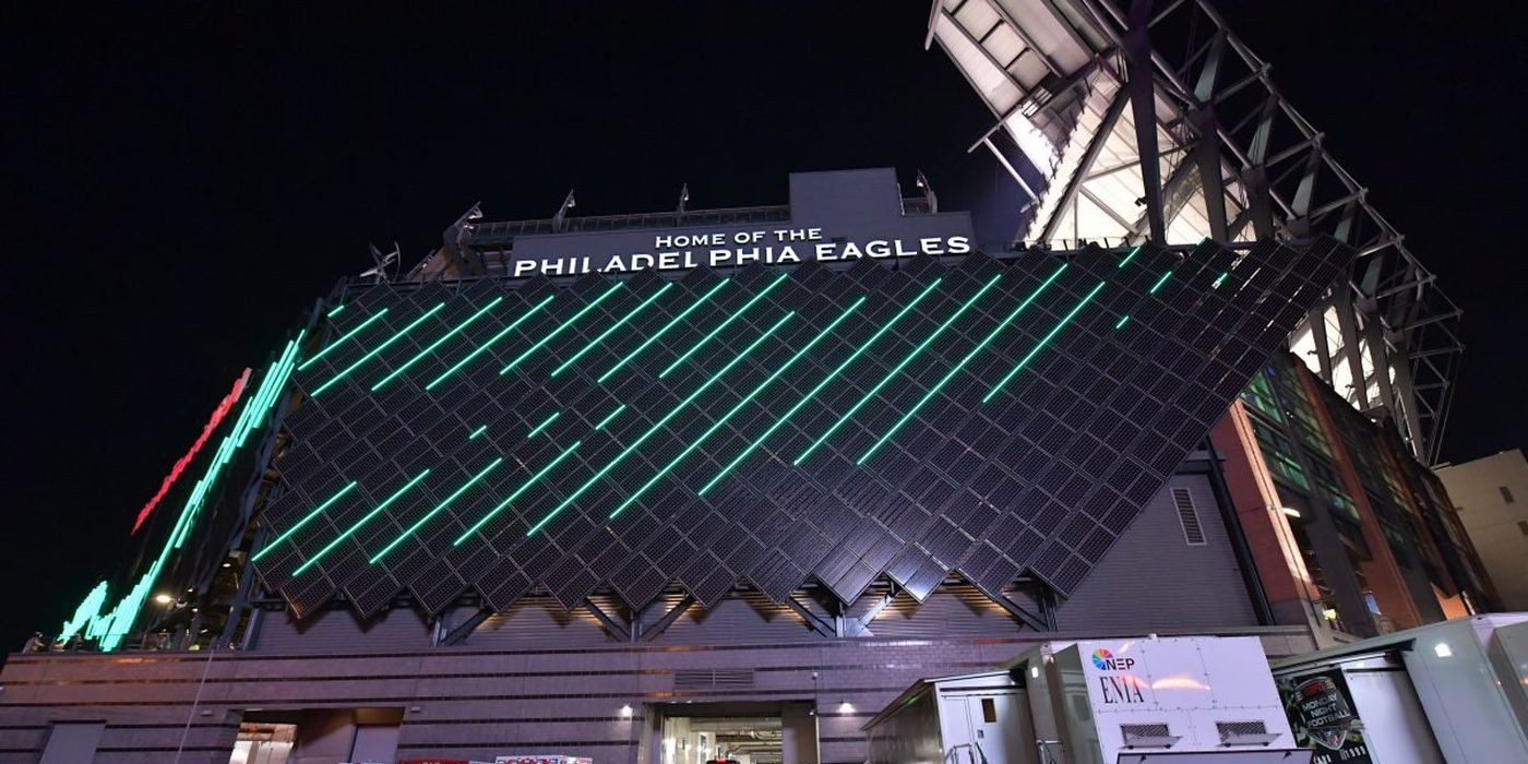 The Philadelphia Eagles are green in more ways than one - Electrek