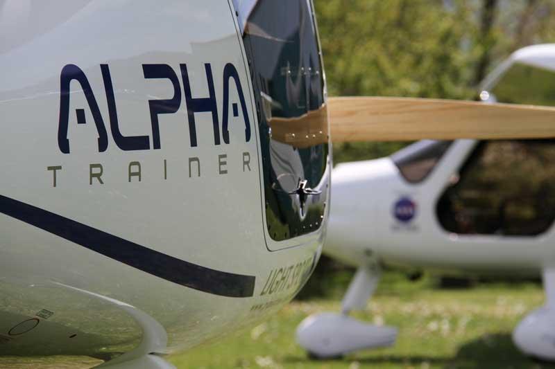 Pipistrel Alpha Electro. Photo: Pipistrel