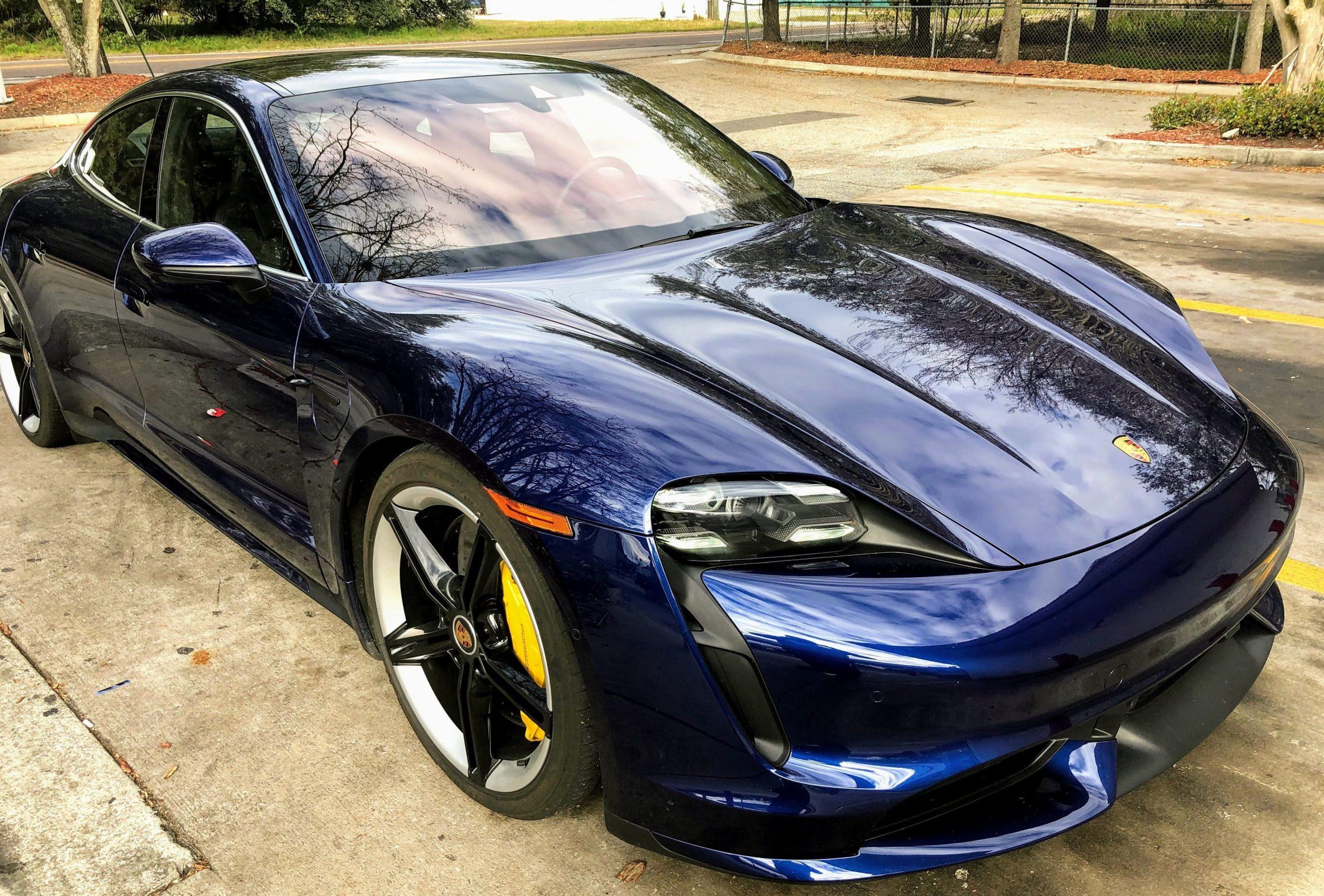 Porsche Taycan Reviews Features Price Etc Electrek