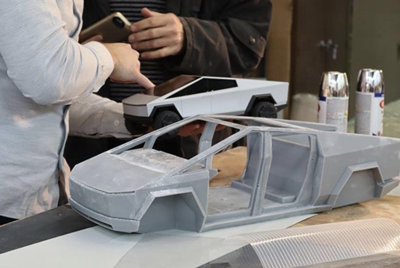 Pré-venda Hot Wheels 1:64 Rc Controle Remoto Tesla cybertruck Cyber Caminhão Navios Dec