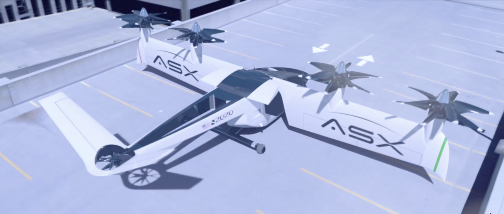 ASX teams up with Spirit AeroSystems for affordable eVTOL UAM - Electrek