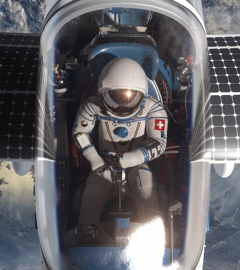 Solar airplane SolarStratos. Photo: SolarStratos