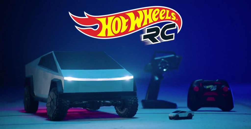Tesla partners with Hot Wheels on Cybertruck remote-controlled toys, pre-orders open