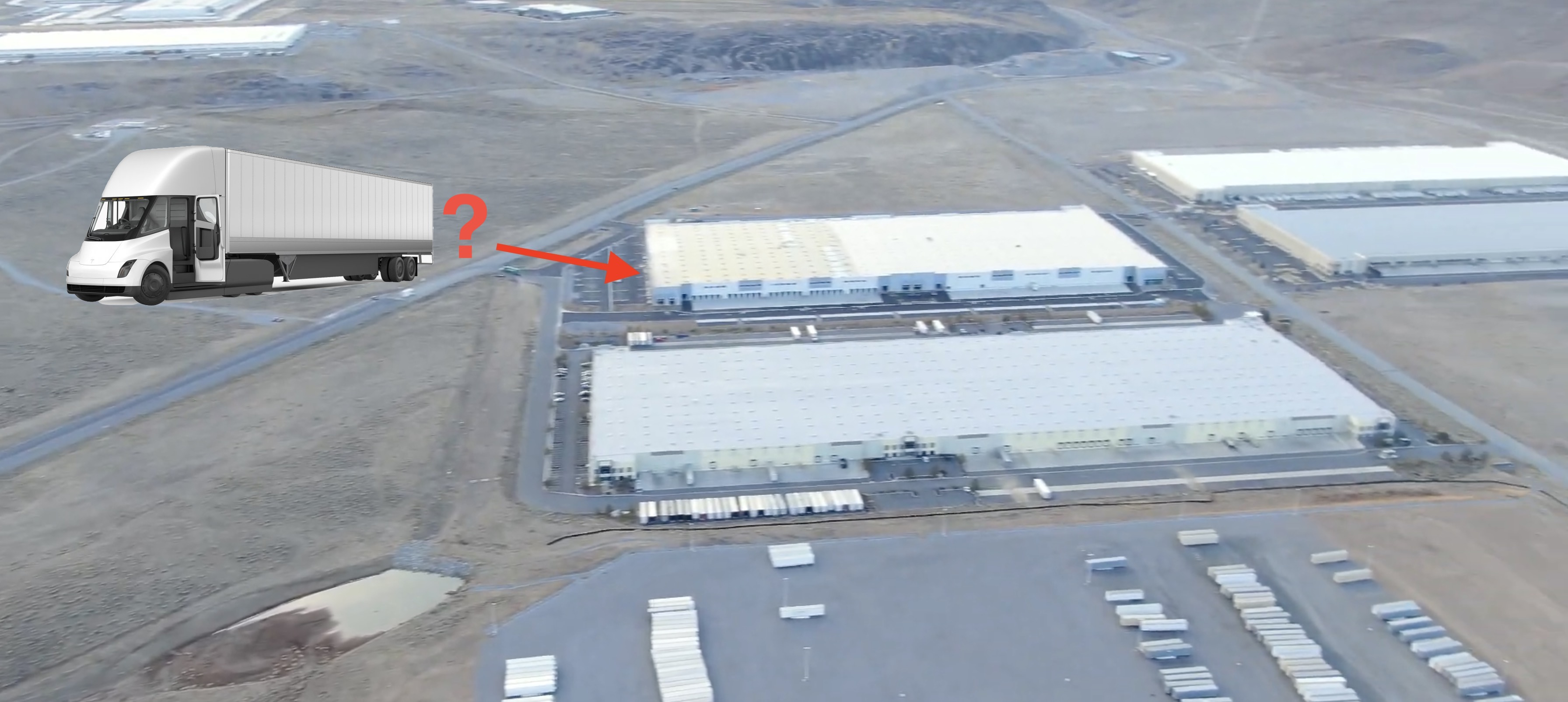 Tesla Has A Giant New Building Next To Giga Nevada And We Might Know What It S For Electrek