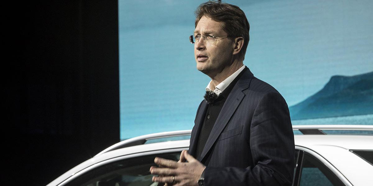 Daimler CEO Ola Kaellenius