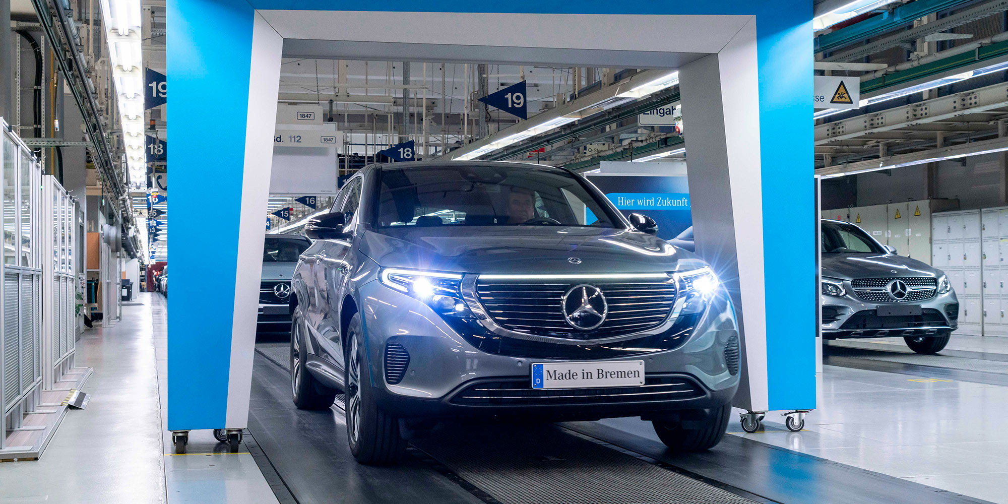 Mercedes will quadruple the share of EVs and PHEVs in its 2020 sales - Electrek