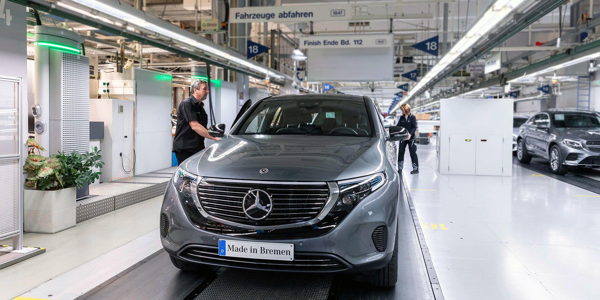 Mercedes-Benz EQC Production