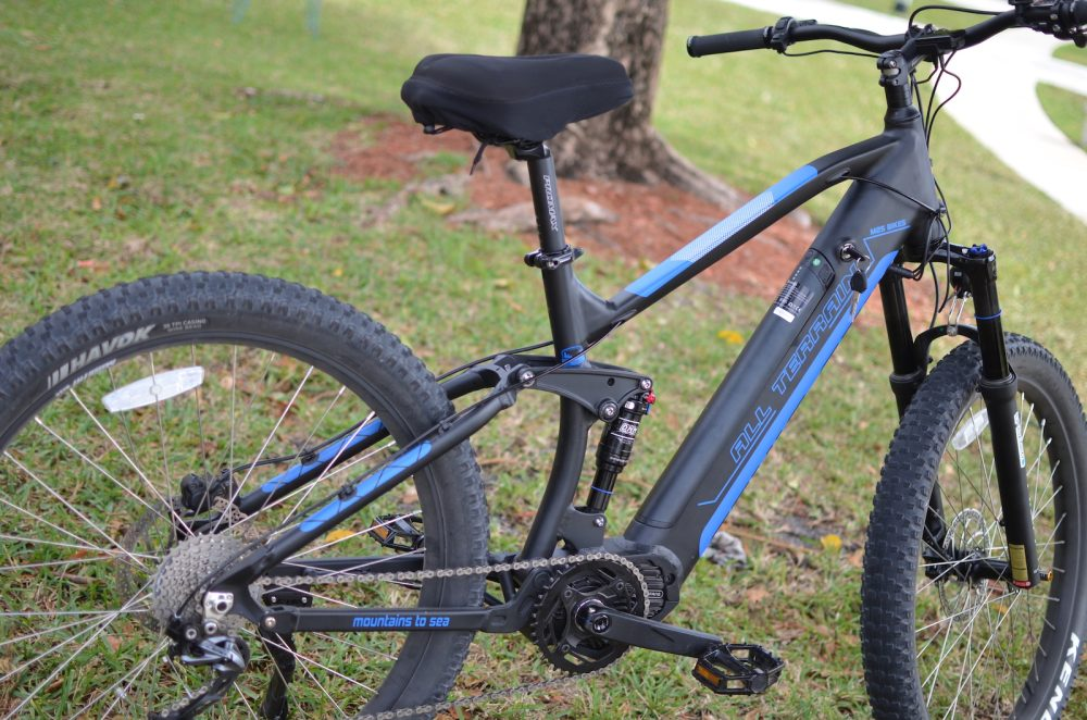m2s all terrain m600 FS electric bike