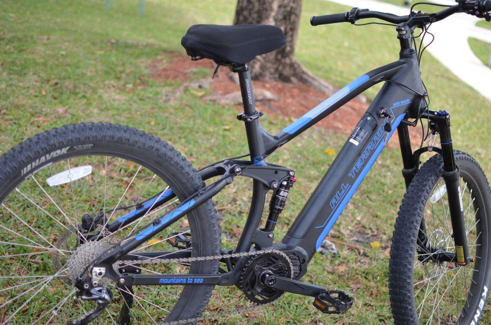 m2s all terrain m600 FS electric bike